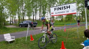 Me at the finish.